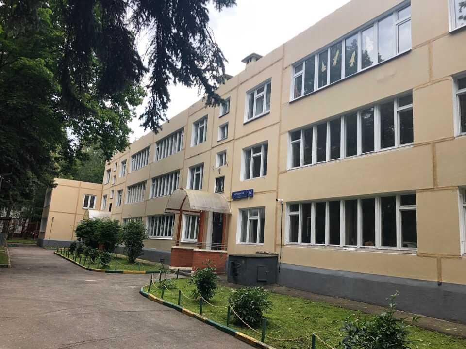 Фасадное остекление департамента образования города Москва